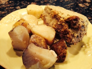 leftover meatloaf