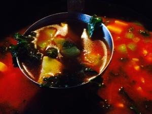 ladle of stone soup