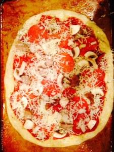 ciabatta pizzs