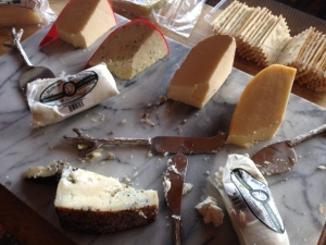Forage with strangers cheese tray
