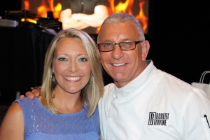 Jen and Robert Irvine