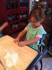 Natalie-rolling-dough