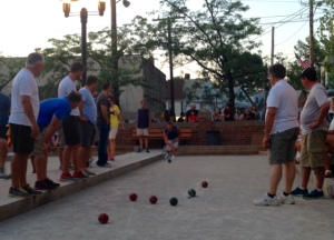 The Feast-bocce