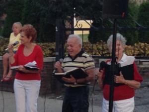 The Feast-italian singers