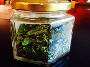 jarred herbs