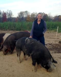 OCP jen and a hog