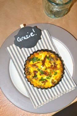 friendsgiving friendly farmhouse quiche