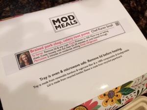 mod meals instructions