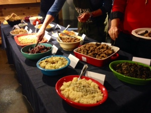 thanksgiving dinner buffet