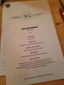 DL Anthos menu