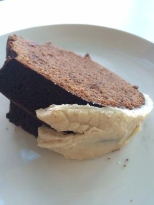 Fire Spice cake slice