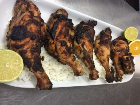 Fire Spice roasted chicken