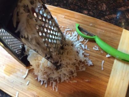 GGG shredded potatoes