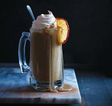 warm apple ginger smoothie
