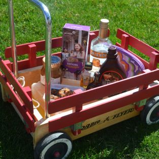 cocktails girl scout wagon