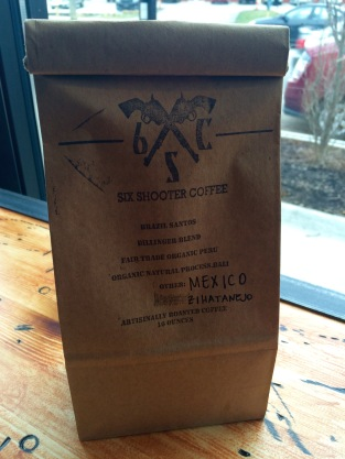 Six shooter coffee beans