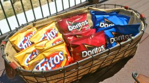 portable picnic snack chips