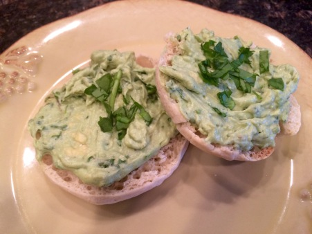 Avocado English Muffin