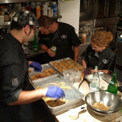 cooking at beard house