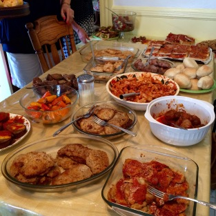 the feast, the spread