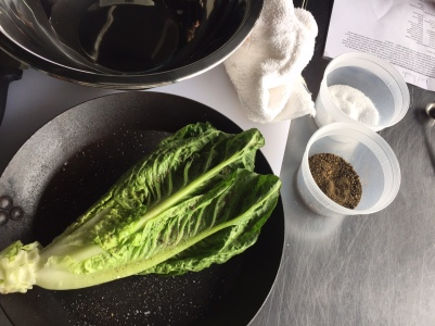 recipe testing romaine cooking