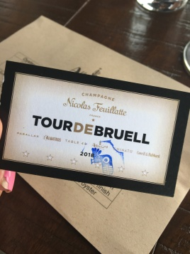 tour de bruell card